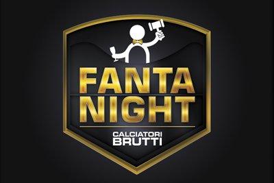 Logo e allestimenti per l'evento Fantanight
