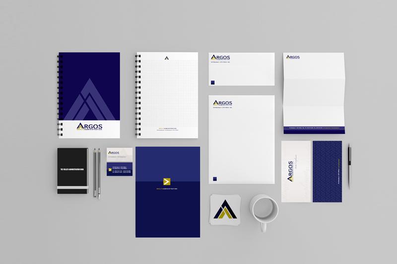 Restyling brand identity di Argos Group